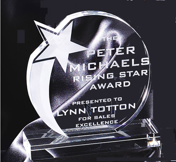 Crystal Shooting Star Award