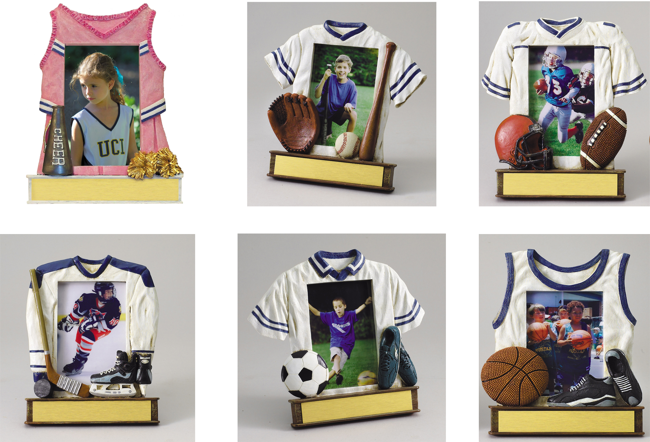 Soccer Jersey Resin Series