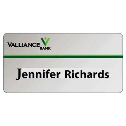 Metal Name Tag