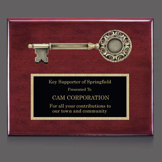 76ebfeabcb35 Rosewood Key Plaque | Cincinnati Recognition Awards