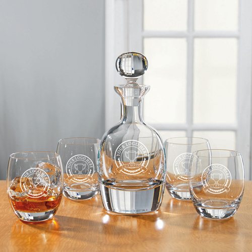 Barrel Decanter Set
