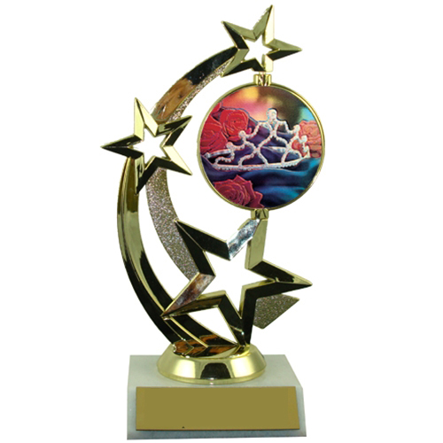 Beauty Pagent Spinner Trophy