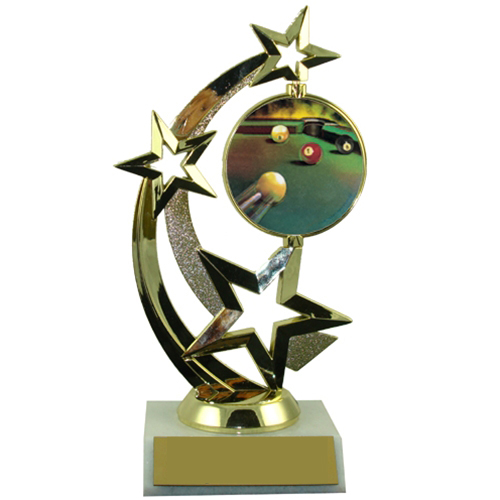 Billiard Spinner Trophy