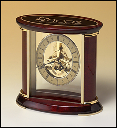 Elegant Skeleton Clock