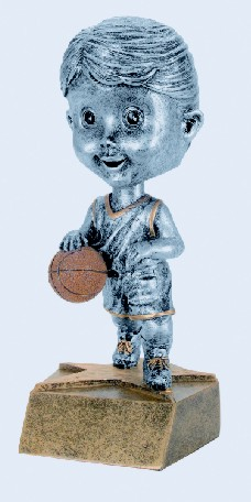 Basketball Female Bobble Heads
