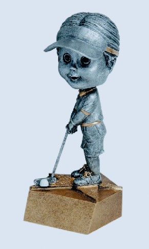 Golf Female Bobble Heads