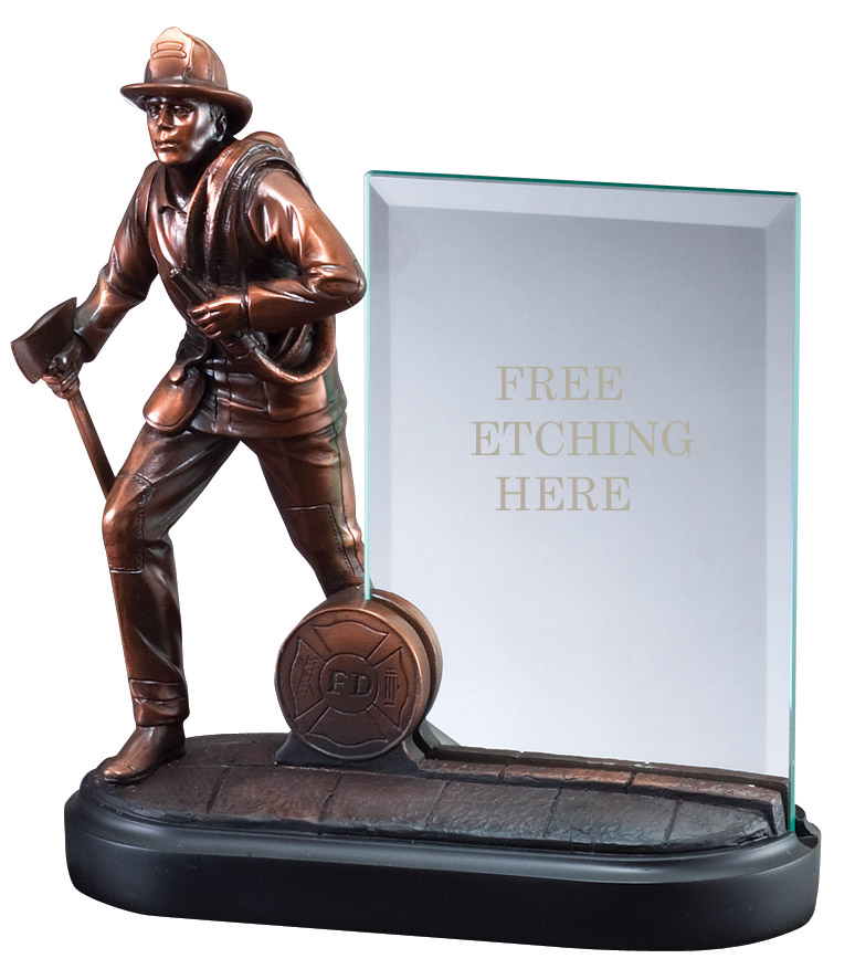 Fireman Glass Award