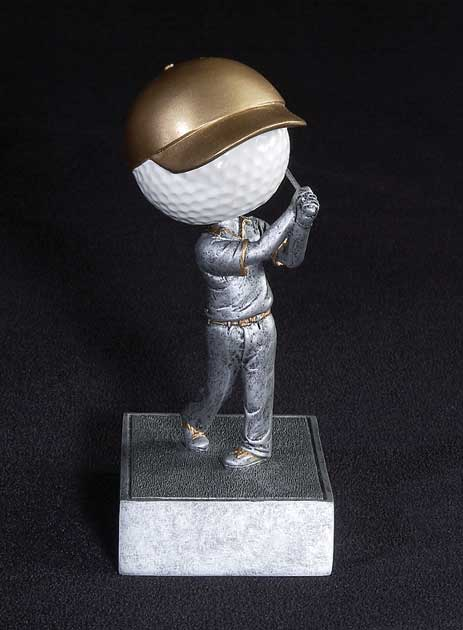 Golf Bobble Heads
