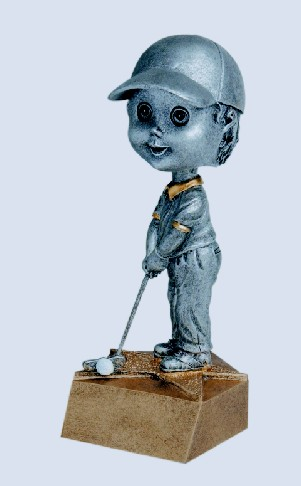 Golf Male Bobble Heads