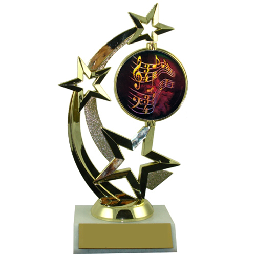 Music Spinner Trophy