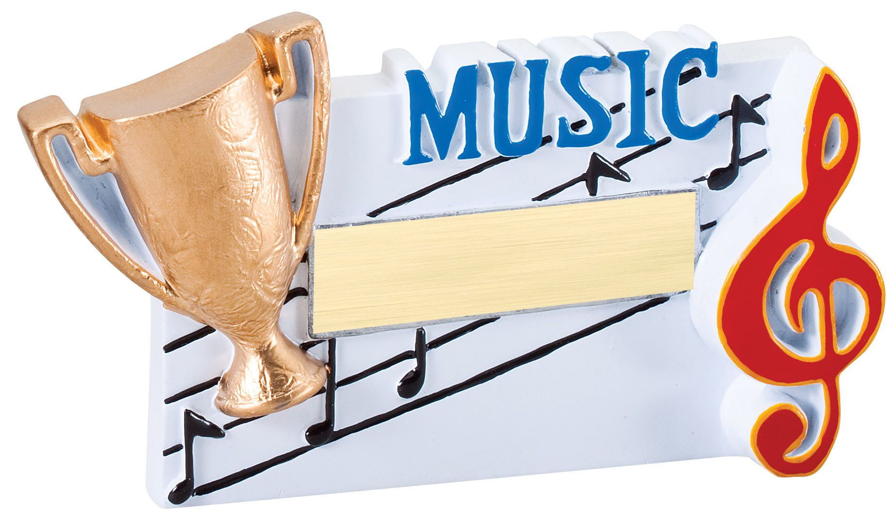 Music Winners Cup Resin