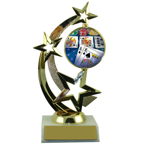 Poker Spinner Trophy