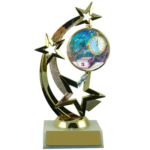 Swimming Spinner Trophy
