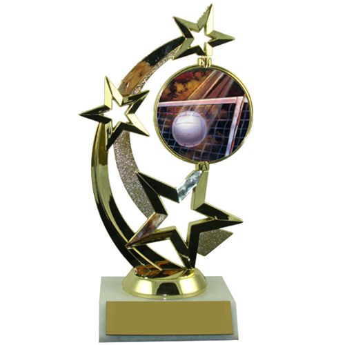 Volleyball Spinner Trophy