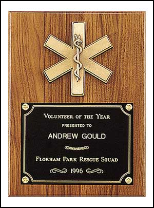Emergency Medical Plaque